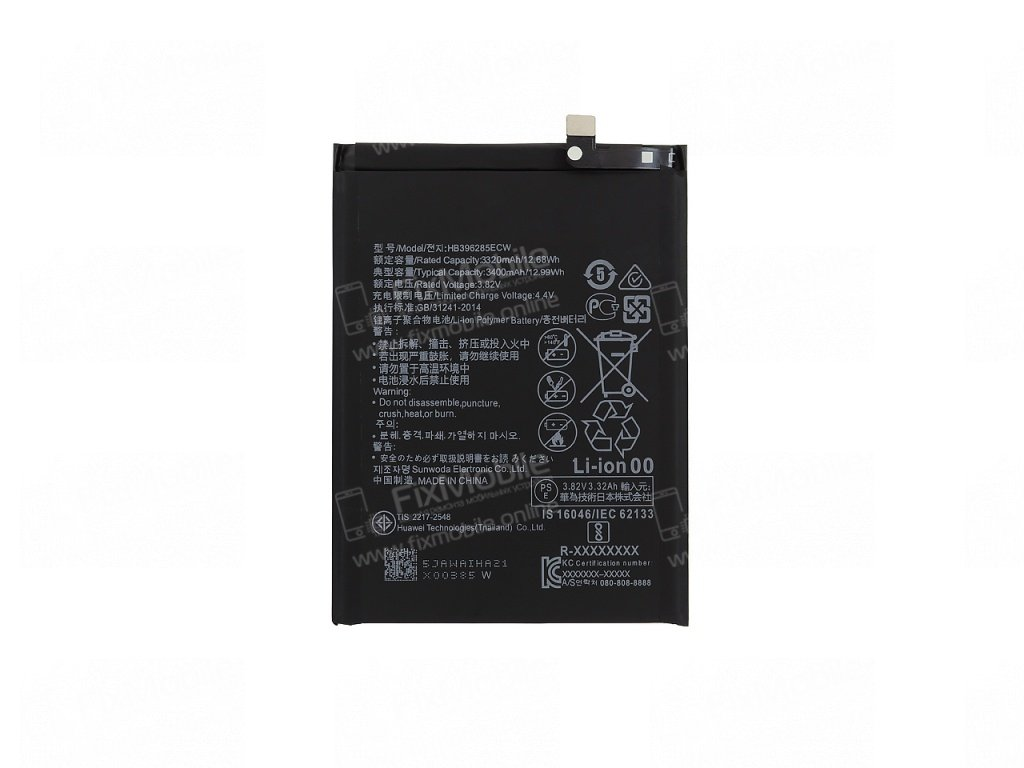 Аккумуляторная батарея для Huawei Honor 10 HB396285ECW