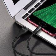 Превью Кабель HOCO U76 магнитный (USB - micro-USB) черный — 4