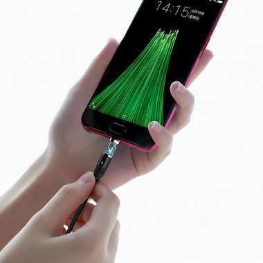 Кабель HOCO U76 магнитный (USB - micro-USB) черный — 5